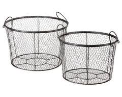 Coop Mesh Baskets modern-bathroom-storage