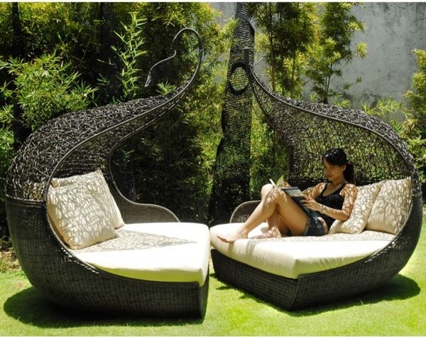 Adam amp Eve Pod Chair Outdoor Lounge Chairs Chicago