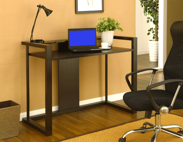 Furniture of america dallas cappuccino office writing desk contemporary desks by - Home office furniture dallas ...