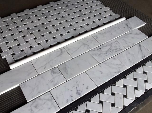 Carrara Bianco 3x6 Quot Subway Tile Price Per Square Foot