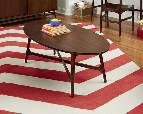 Oval Coffee Table - Mila by Hammary -