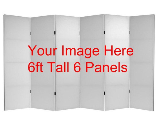 Custom Photo Room Divider Screens -