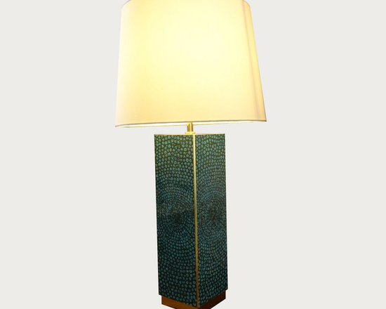 Waylande Gregory Turquoise Dots Lamp - This lamp does more than just provide ample light in your space - it's a strong design element that will enhance the decor in almost any room. Featuring a lush turquoise, green and gold dot motif, this substantial piece will draw the eye and add character and style to your home.