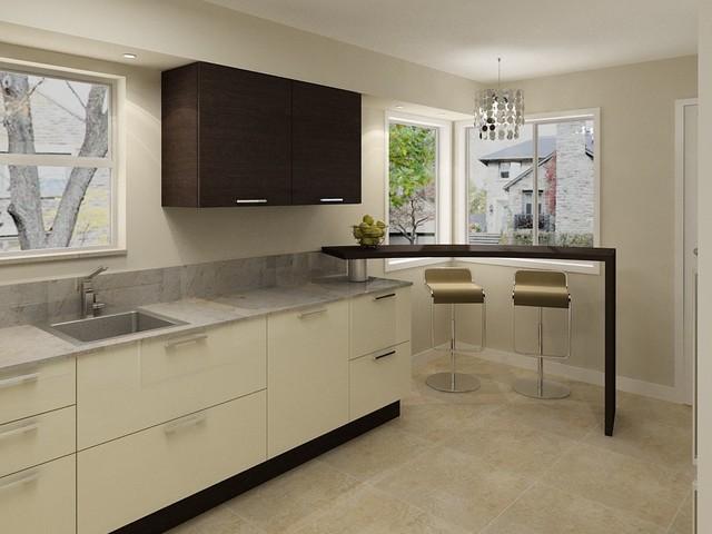 Duplexes at Burnaby modern-kitchen-cabinets