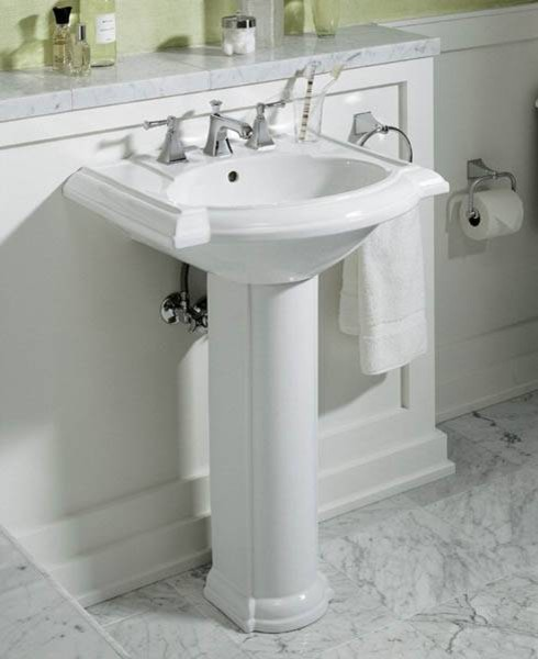 Bathroom Sink Mirror : Devonshire Pedestal Sink - Traditional - Bathroom Sinks - by Fixture ...