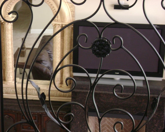 Wrought Iron Ideas - Tuscany panel.