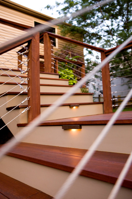 Outdoor Living - Symmes modern staircase