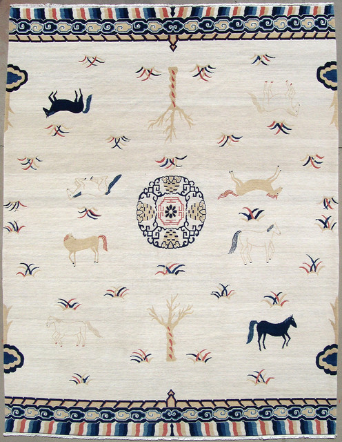 Chinese Horse Rug asian-rugs
