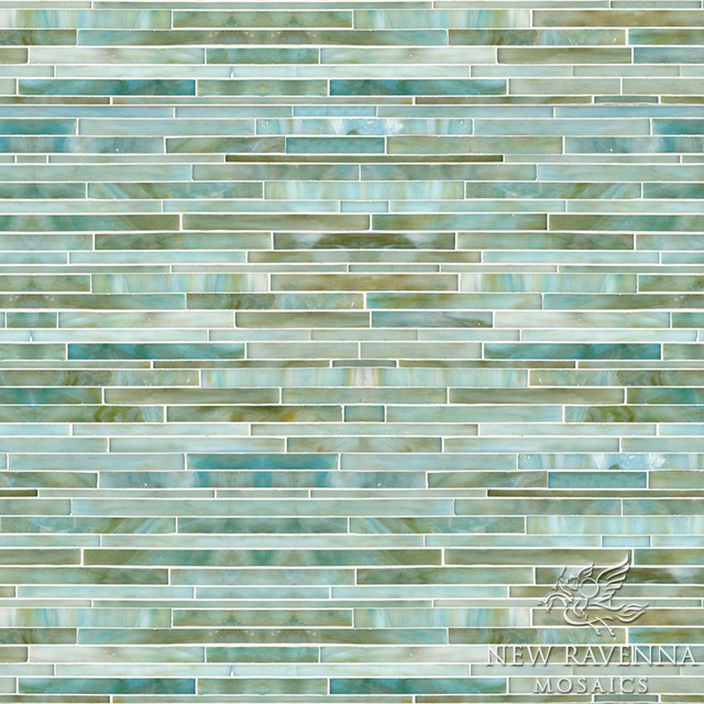 tatami mist jewel glass mosaic tile other metro by