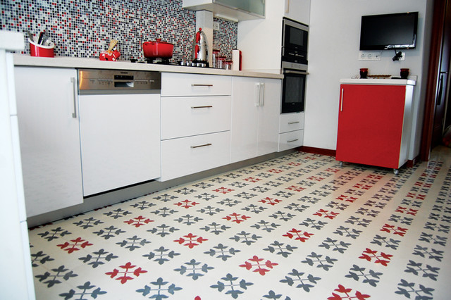 Encaustic Cement Tile Tile Other Metro By Cement