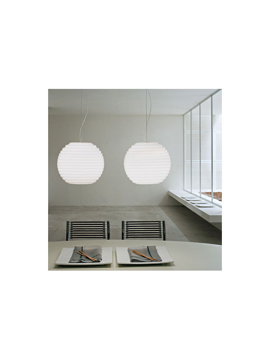 Modulo S35 Pendant Lamp By Leucos Lighting - Modulo S35 pendant lamp by Leucos Lighting series is a modern contemporary lamp.