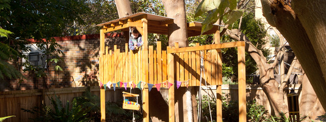 Coogee Treehouse - Pully rustic-landscape