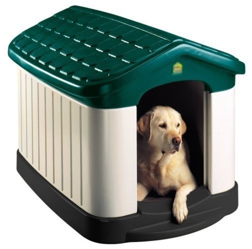 Pet Zone Tuff-n-Rugged Dog House - Contemporary - Pet Supplies - by Hayneedle