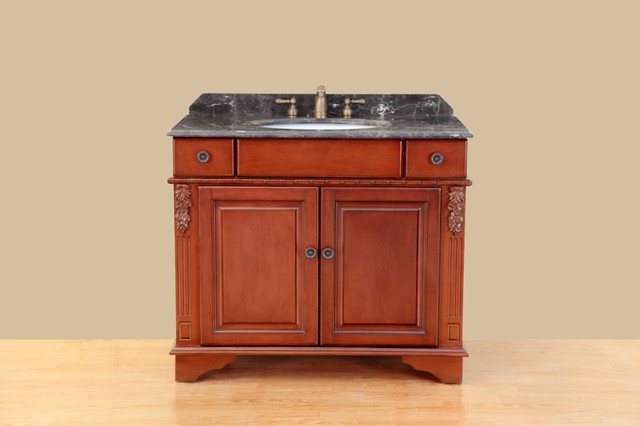 39'' Bosconi T-3626 Classic Single Vanity traditional-bathroom-vanities-and-sink-consoles