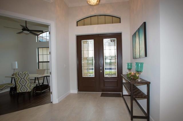 Gone Home Foyer Key : Siesta key model home foyer transitional entry other
