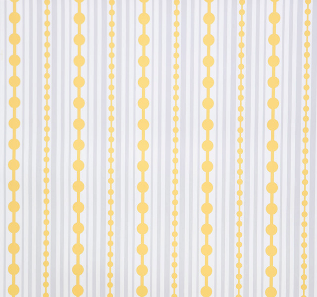 Striped wallpaper sample canary contemporary for Modern wallpaper samples