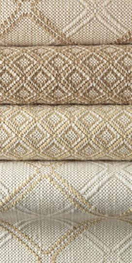 Barringer Trellis And Diamond Flatweave Carpet