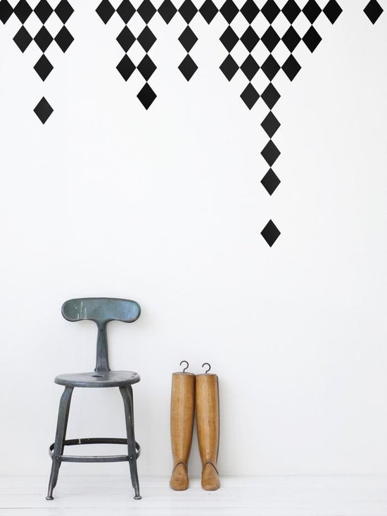 Ferm Living Harlequin WallSticker - With Ferm Living WallStickers it is easy to create a new look and change the style in a room in a matter of minutes. By using WallStickers, your kids can also help decorate their own room in an array of colors.