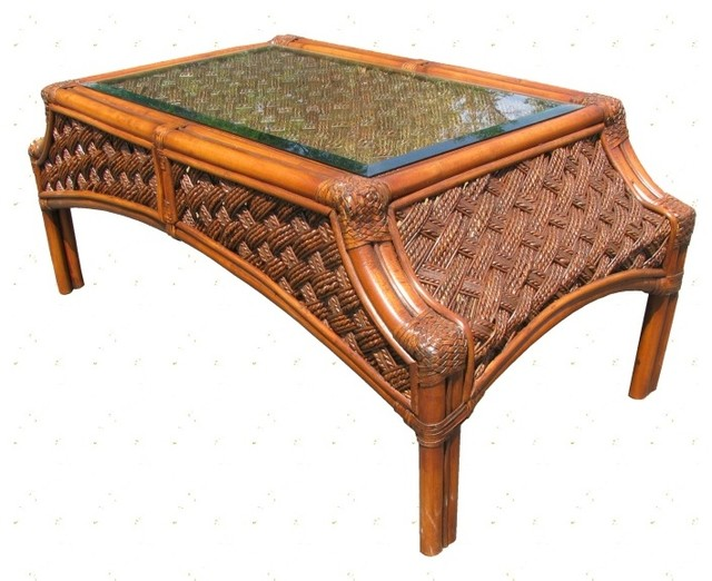 melbourne rattan coffee table tropical furniture by. Black Bedroom Furniture Sets. Home Design Ideas