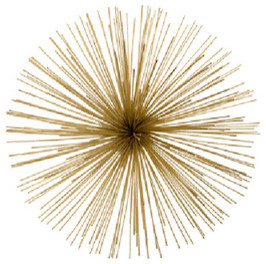 Brass Urchin Accent modern-artwork
