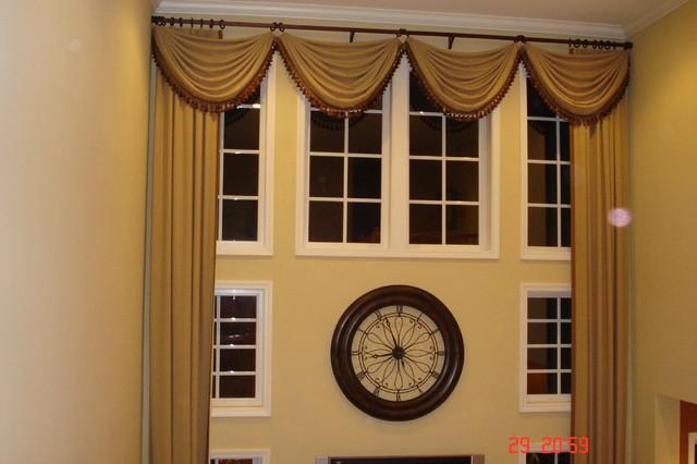 Custom Drapes window-treatments