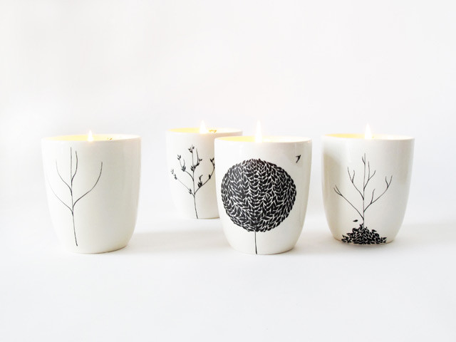 The Four Seasons Candle Set contemporary-candles