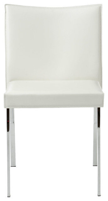 Riley Side Chair (Set Of 2)-Wht contemporary-dining-chairs