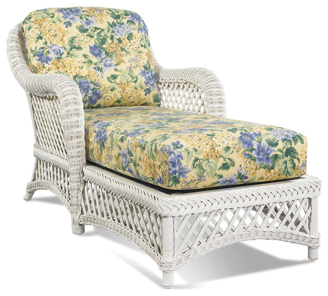 white wicker chaise lanai tropical indoor chaise lounge chairs