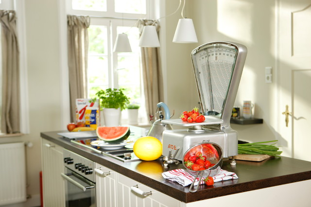 Old house gets new style traditional-kitchen