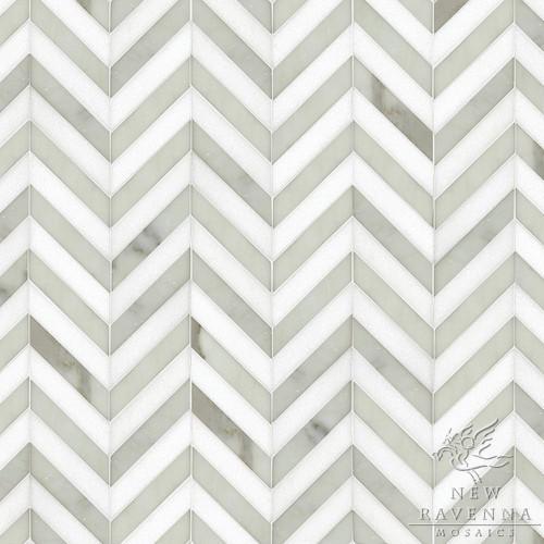 Maharajah Stripe eclectic-tile