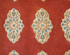 Spice Route ~ Fabric Swatch traditional-upholstery-fabric