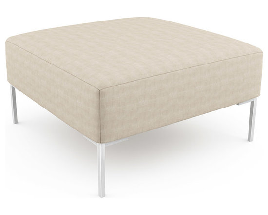 """Mento 36"""" x 36"""" Bench – Thin - Firm foam on this bench provides adequate support and a clean look. With optional tufting and quilting, you can create the exact top you want for your modern space.Viesso designs and manufactures this piece of modern furniture. All of the benches from Viesso, along with the sofas and sectionals, are built one at a time in Los Angeles in 3 weeks. With all the custom options available, they are truly built for you and your space.  A custom bench that's also an eco bench. Yes, it's that good."""