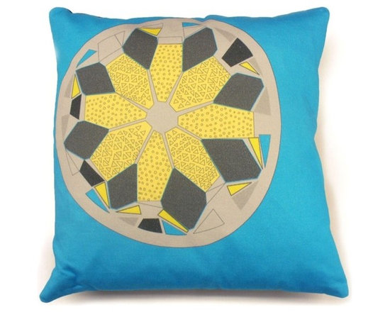 Sasquan Cushion - Blue -