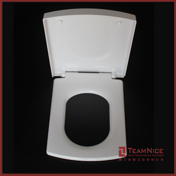 Large Square Toilet Seat Smiley Square Soft Close Quick Release
