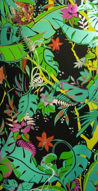 Flavor Paper - Feroz Wallpaper modern-wallpaper
