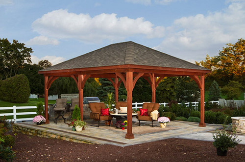 Cost for free standing pavilion for Average cost to build a pavilion