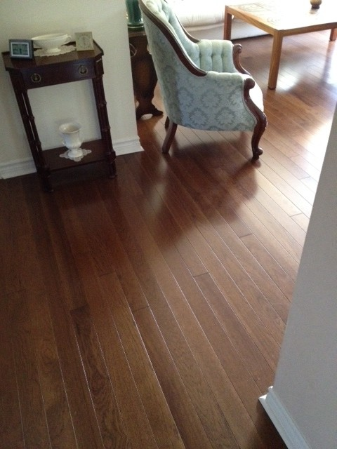 Hickory Brandon  wood flooring