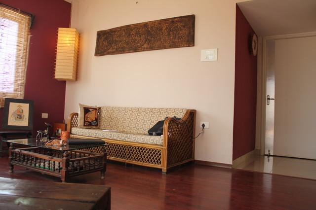 neelam's residence eclectic-living-room