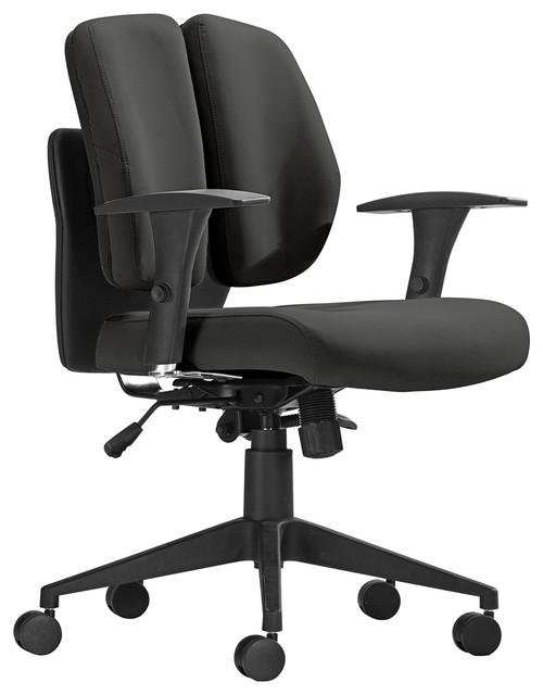 Aqua fice Chair Black Mesh Contemporary Task Chairs