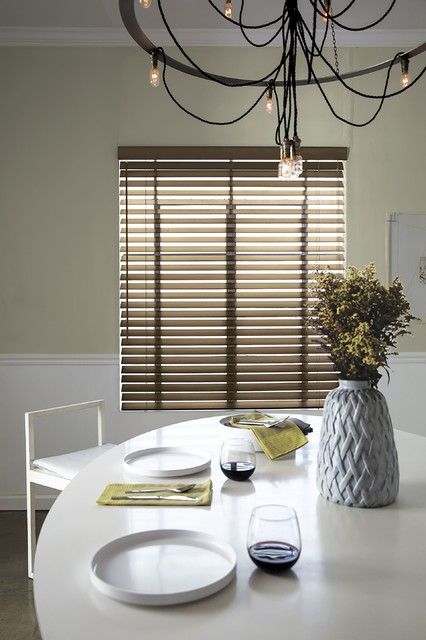 Smith noble wood blinds midcentury vertical blinds for Smith and noble natural woven shades