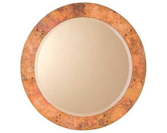 Native Trails - Native Trails Tuscany Round Mirror - *Beveled edge glass