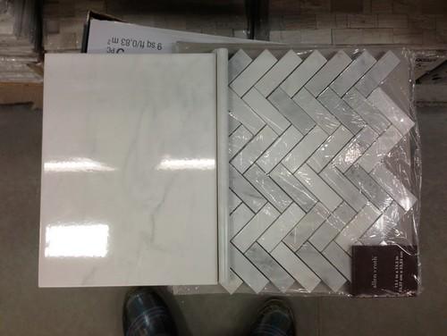 Faux Marble Bathroom Tiles