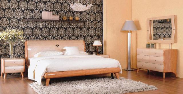 Exclusive wood design bedroom furniture modern beds for Exclusive beds