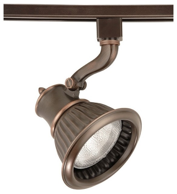 WAC Rialto Bronze PAR30 Track Head for Lightolier Systems traditional-track-heads-and-pendants