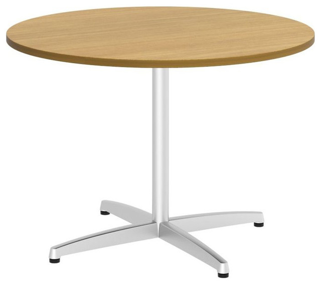"Bush 300 Series 42"" Round Conference Table in Modern Cherry - Modern - Home Office Accessories ..."