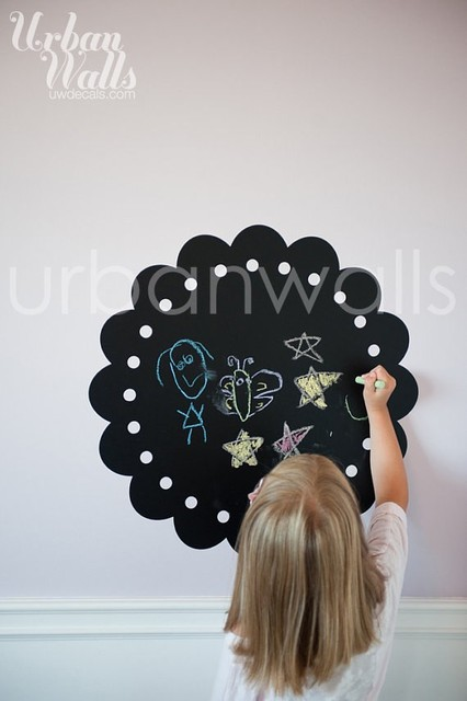Children's Room Chalkboard Decal contemporary-wall-decals