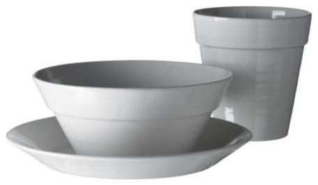 IKEA PS KROG Plate, mug and bowl modern-dinner-plates