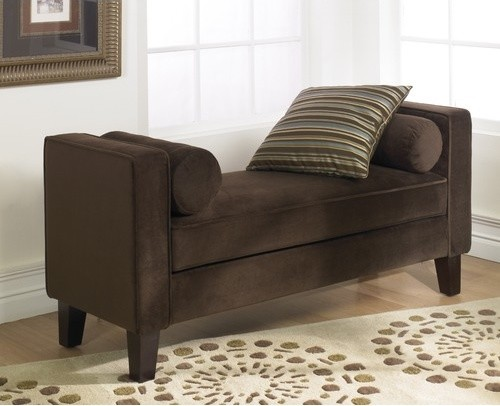 Houzz Foyer Bench : Curves velvet entryway bench modern indoor benches