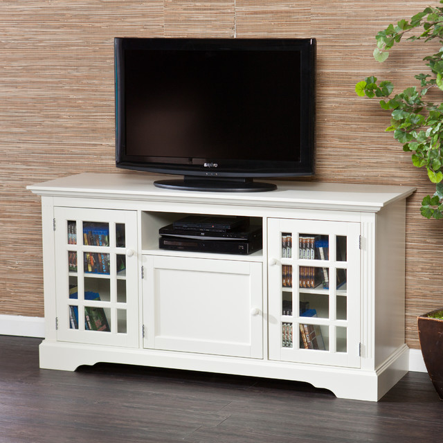 Upton home trevorton off white tv media stand White tv console