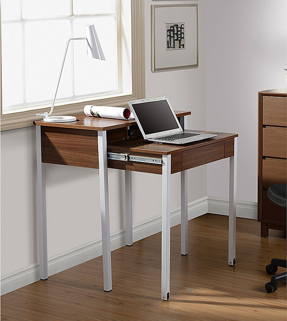Modern Design Space-saving Retractable Student Desk contemporary-desks